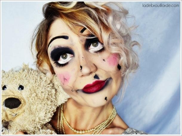 tuto maquillage annabelle tutoriel