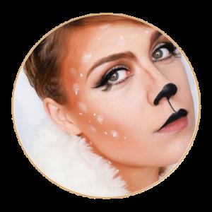 La Biche Maudite ! – Tutoriel maquillage spécial Halloween #1