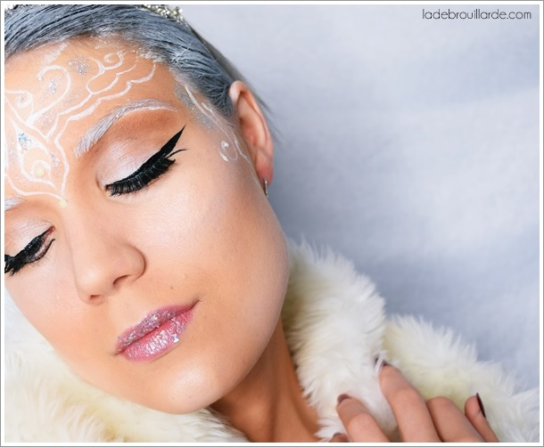 make up artist snow Elves tutorial