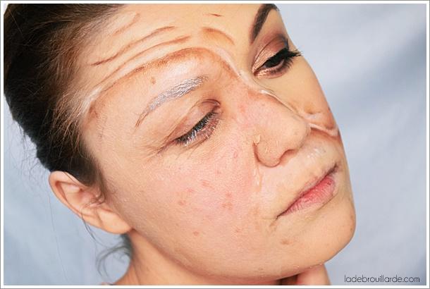 Se transformer en personne agée maquillage fx
