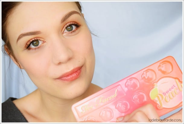 sweet peach make up all day tuto