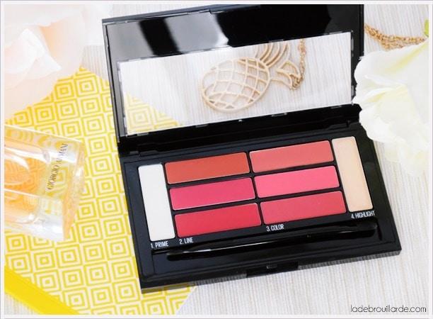 color drama lip palette maybelline revue