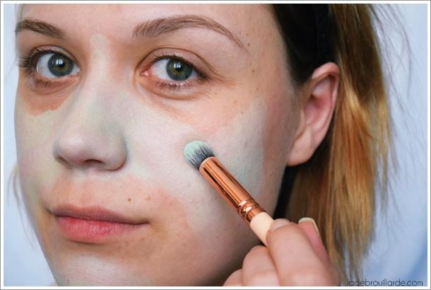 maquillage peau acné ado