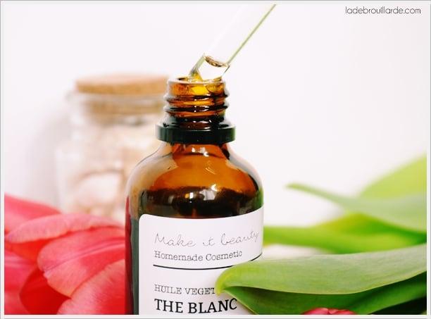 huile végétale non comédogène
