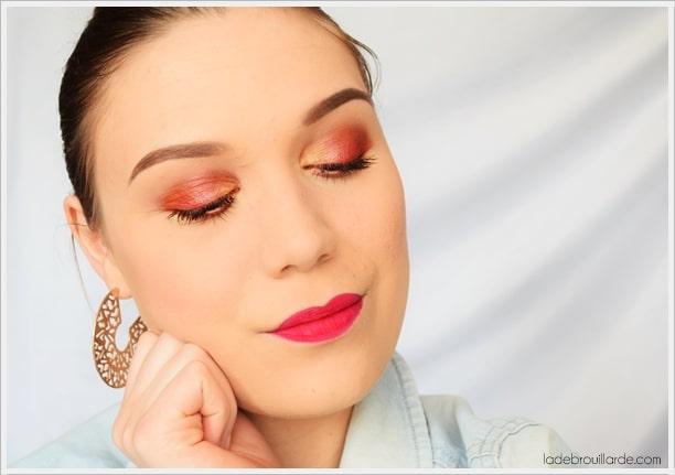 tutoriel maquillage quotidien facile à faire