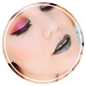 Crazy Bless – Un tutoriel maquillage ensoleillé magenta & kaki