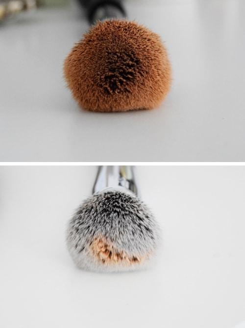 machine qui nettoie les pinceaux cleanner brush avant après