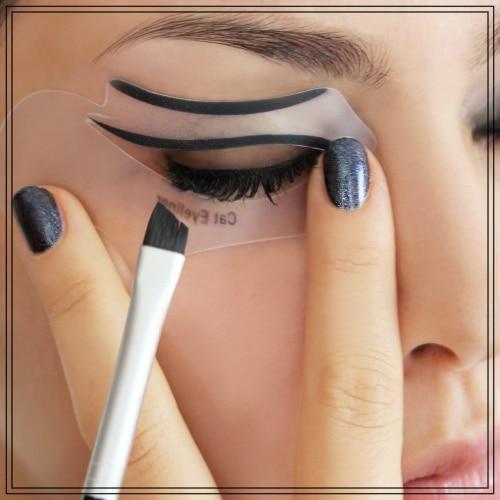 pochoir eye liner