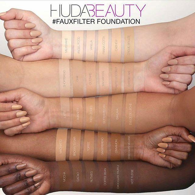 huda beauty faux filter fondation