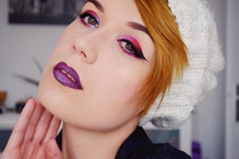 tutoriel maquillage eye liner desert dusk