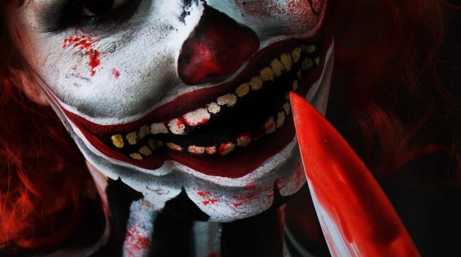 clown tueur maquillage halloween tutoriel