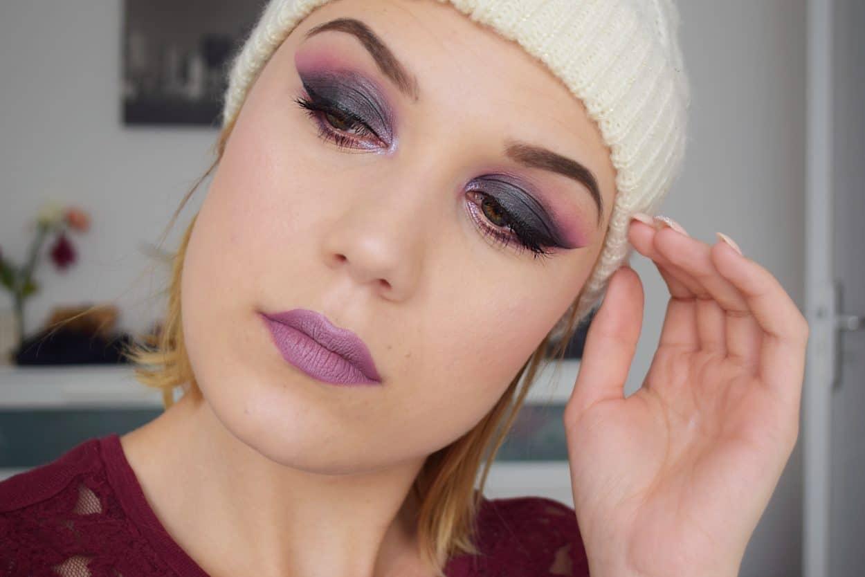 Makeup smoky grey tutorial