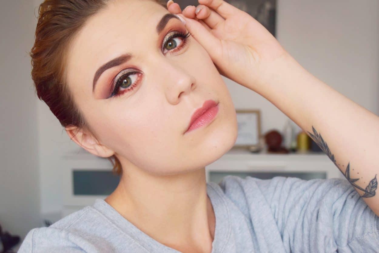 tutoriel maquillage cuivre