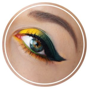crease teal maquillage tutoriel