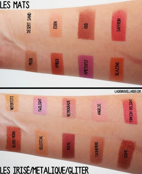 desert dusk huda beauty swatch