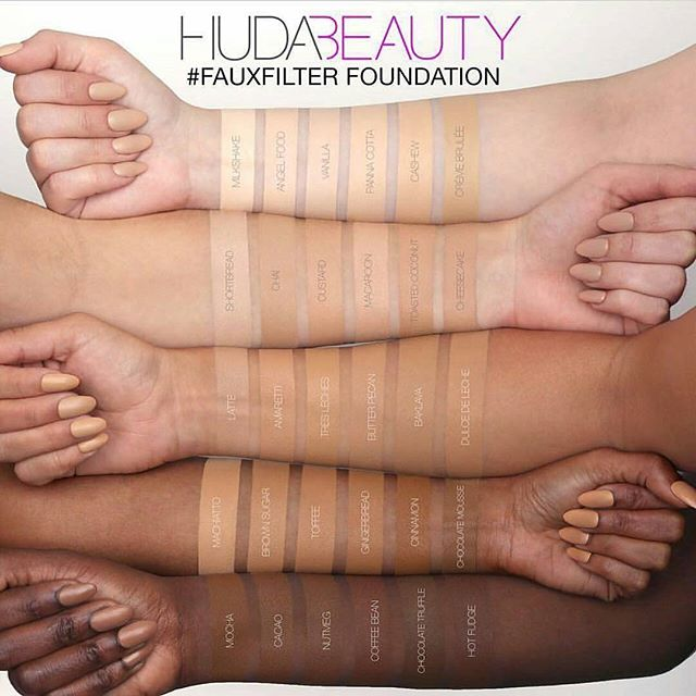 huda beauty faux filter fondation