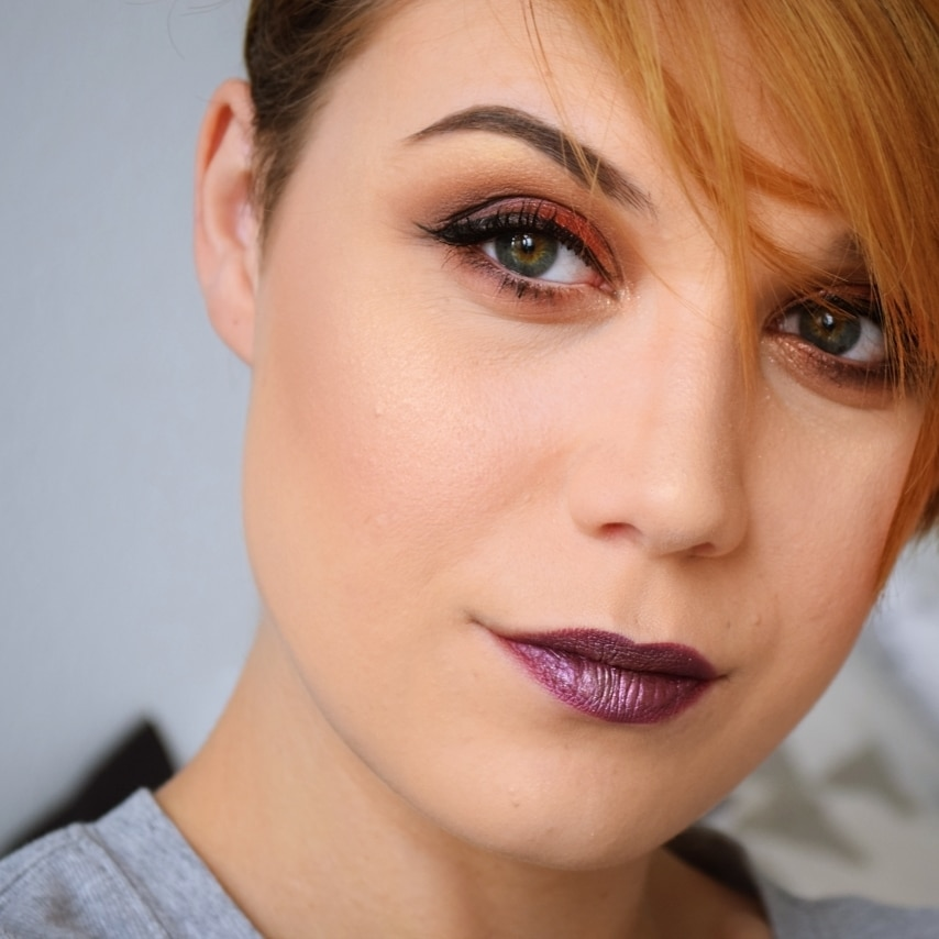 Tutorial makeup saint + sinner kat vonD