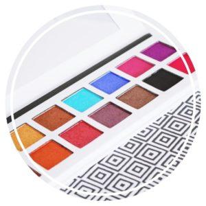 Zoom sur la Palette De'Lanci Pro Multi Color Collection