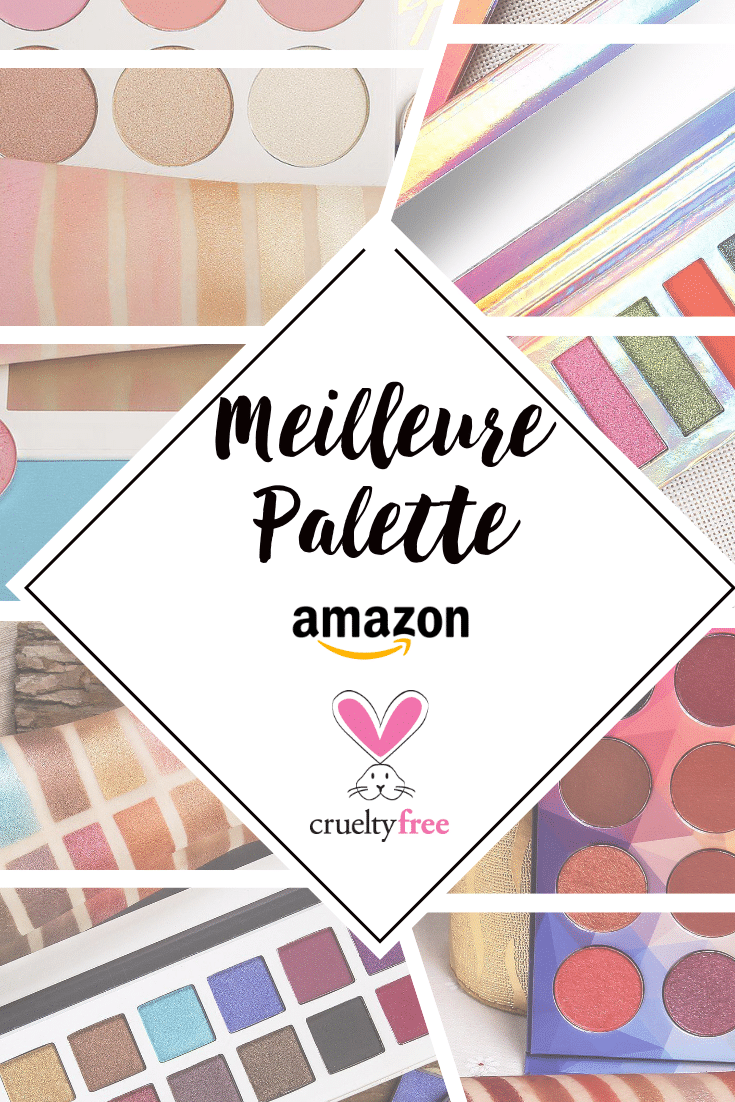meilleure palette cruelty free amazon pin
