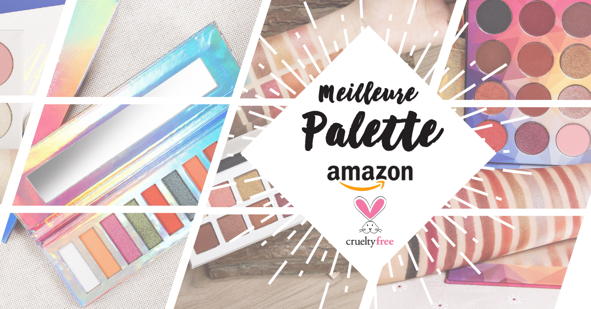 meilleure palette cruelty free amazon