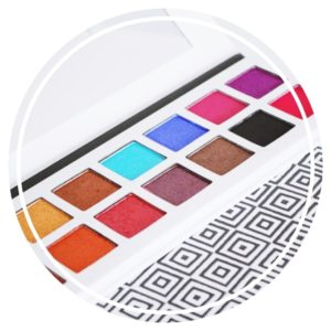 Zoom sur la Palette De'Lanci Pro Multi Color Collection