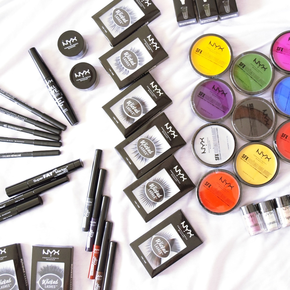 unboxing nyx cosmetic