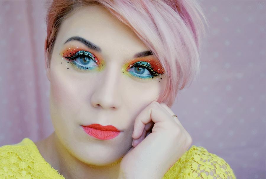 tutoriel maquillage dot liner