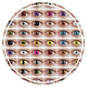 choisir lentilles fantaisie
