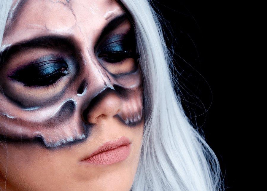tutoriel masque squelette