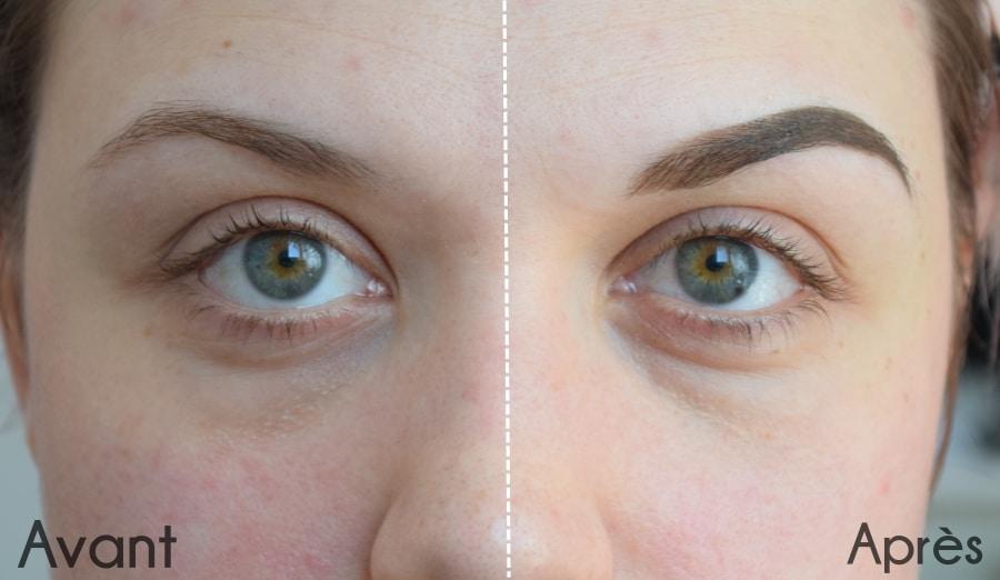maquillage sourcils tutoriel facile