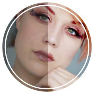 retouche photoshop instagram makeup maquillage photo 1