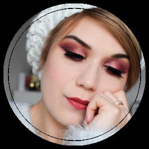 Tutoriel maquillage Rose gold pour les fêtes