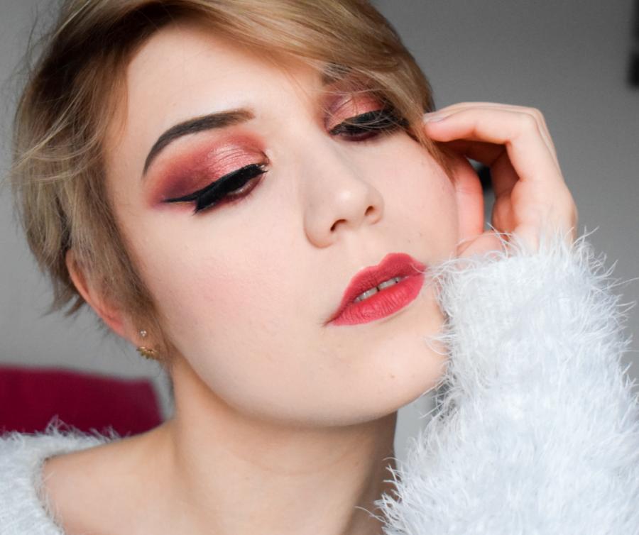tutoriel maquillage yeux noel fete soiree