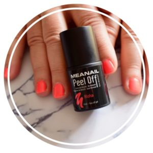 Partons à la découverte des vernis semi-permanents Peel Off Meanail