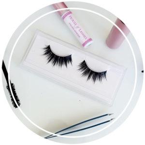 tutoriel astuce nettoyage faux cils tips