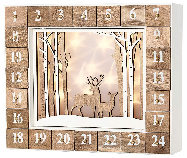 calendrier de l'avent en bois 5