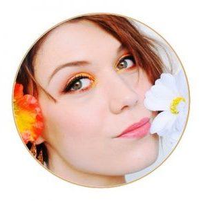 maquillage coloré jaune